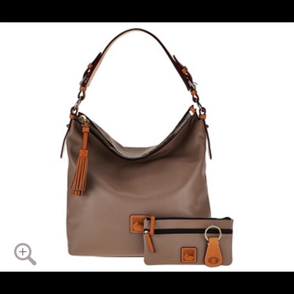 b0ccbc4208 Dooney   Bourke McKenzie Hobo Bag with Wristlet